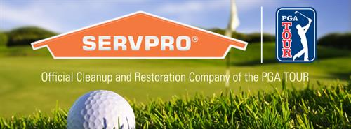 SERVPRO is the official sponsor of the PGA Tour