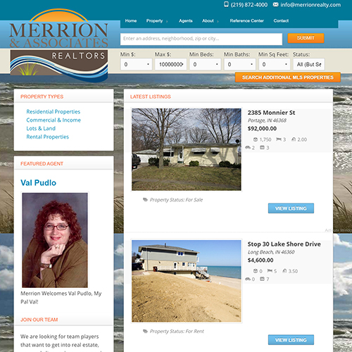 Merrion Realty of Michigan City, Indiana
