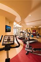 Fitness center featuring PreCore & Natulis Equipment.