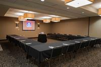 2,500 sq. feet of flexitble meeting space with onsite catering and A/V needs.