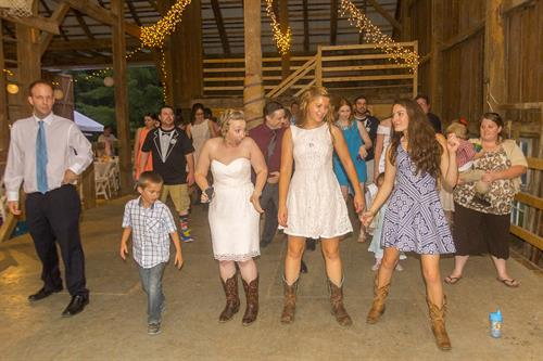 A Smaller very short wedding on the 4th of July 2015
