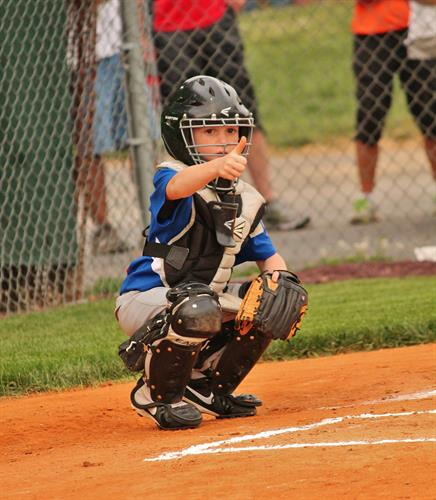 This actually happens to be my Nephew at his TBall game.