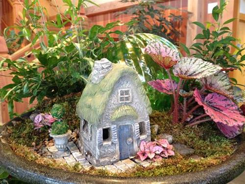 Fairy Cottage by Anna Risan