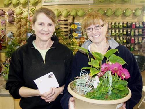 Fairy Gardening seminar winner - April 13, 2013