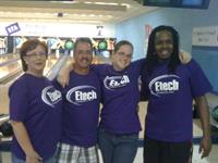 1st Place Bowling at Corporate Challenge