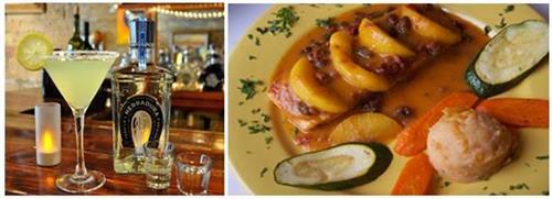 Nueva Margarita & Salmon Chipotle con Duraznos