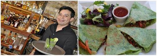 Mojitos and Vegan Quesadillas