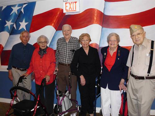 Brookdale Lake View honors our Veterans