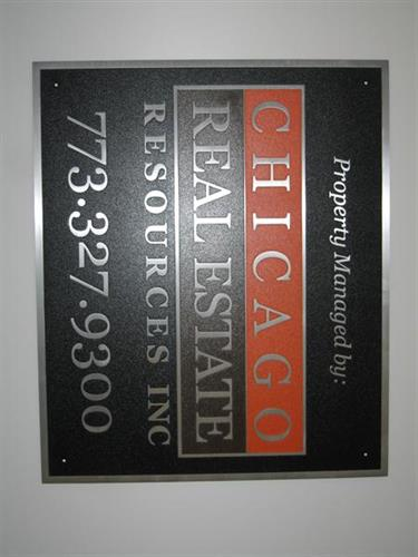 Custom Cast Plaque with color