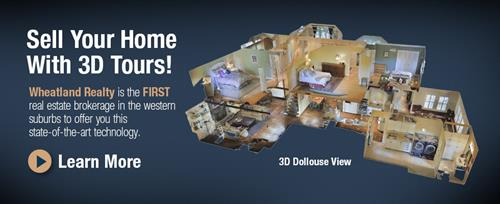 Sell your home with true 3D!