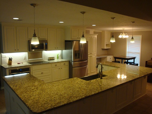 This is a sample of an open-floorplan remodel we completed in Clinton, MS. To see the entire remodel including before and after images, please visit our website www.homeremediesllc.com.