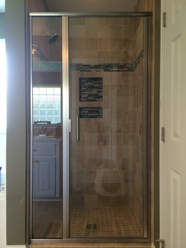 This is a walk-in shower renovation we completed in Pearl, MS. To see before and after pictures, please visit our website www.homeremediesllc.com.