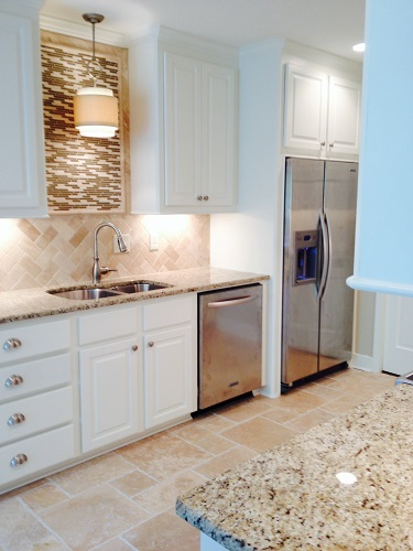 This is a sample of a kitchen renovation we completed in Jackson, MS. To see before and after images, please visit us on web at www.homeremediesllc.com.