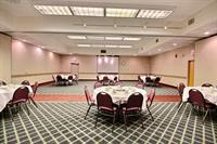 Madison room seats up to 100 people for all types of meetings and parties