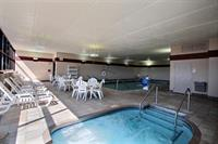After a long day relax in our indoor pool and hot tub