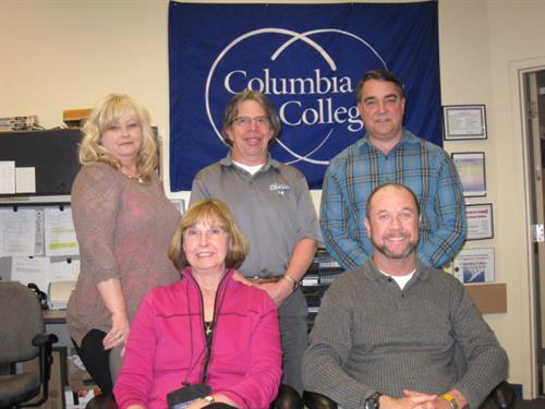 The staff of Columbia College