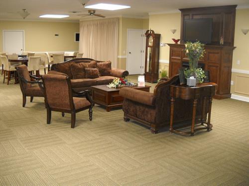 Lobby/gathering area