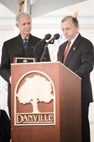 Home Town Hero - Capt. Sullenberger with Mayor Newell Arnerich