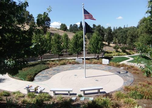 All Wars Memorial - Oak Hill Park - Danville - site of east bay Memorial Day program