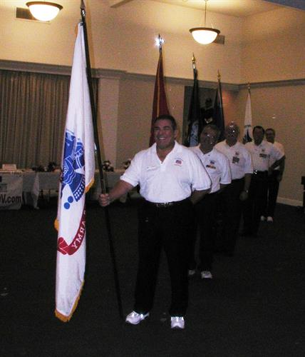 VNVDV provides Color Guard on holidays