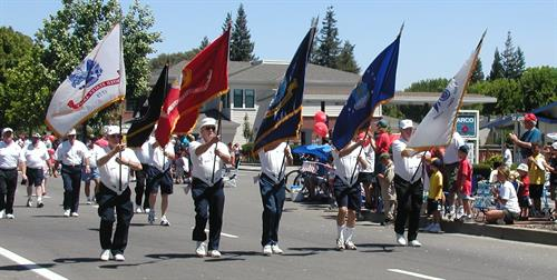 VNVDV in Danville's 4th of July Parade