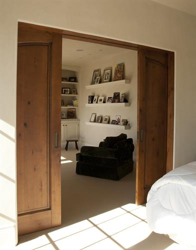 pair of interior pocket doors