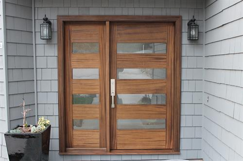 4 Light Entry Door with 1 4-light sidelight