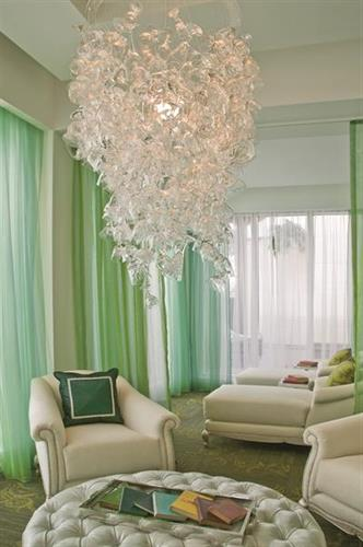 Eau Spa Chandelier