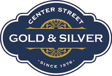Center Street Gold & Silver logo