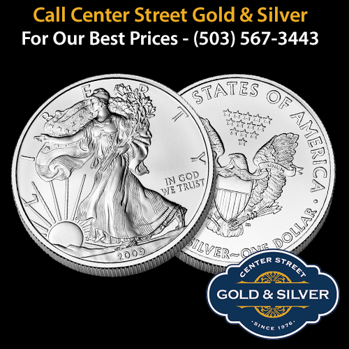 One ounce American Silver Eagle