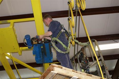 Bridge Crane & Hoist Repair, OSHA Inspections, Installation.