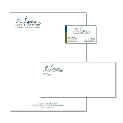 Stationary packages - design and printing
