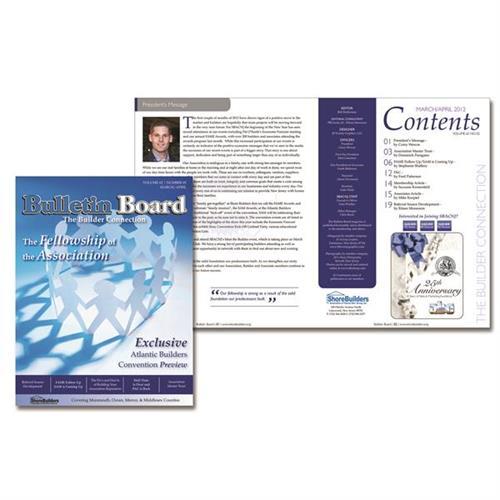 Association publication design for print and digital