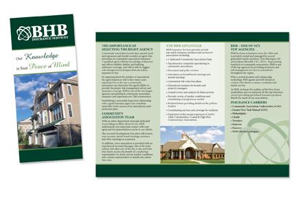 Tri-fold brochure design, content & printing