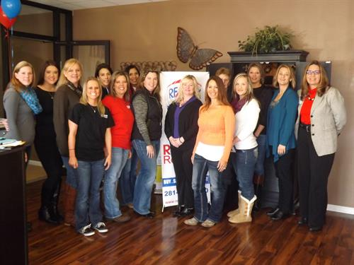 My phenomenal team of agents at RE/MAX Rewards