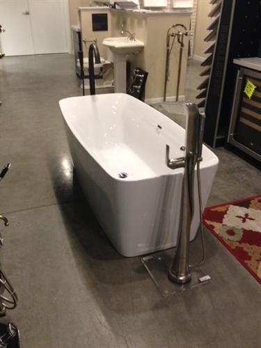 Wide variety of tubs, built in, freestanding, deck mount, etc