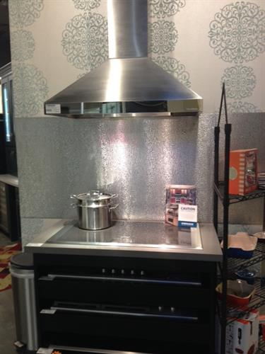 We have electric, induction cook tops as well!