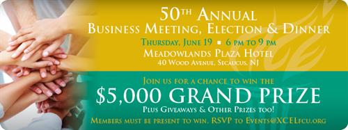 Our Annual Meeting & 50th Anniversary Celebration is coming up.  All members are welcome!
