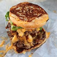 Employee #1 Grilled Cheese Burger