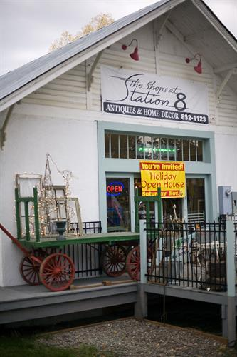 Shops at Station 8 - Historic Train Depot in Columbia Falls