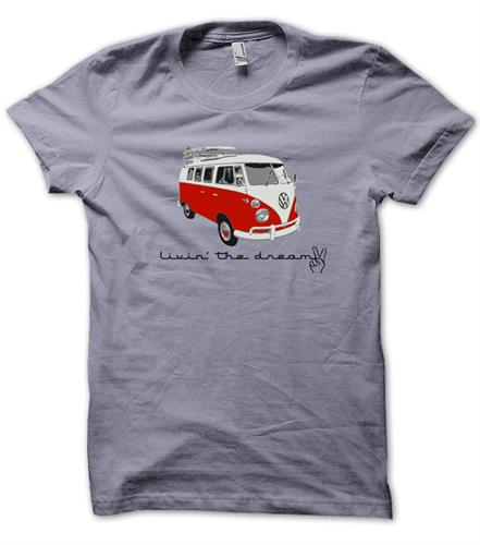 VW Living the Dream T Shirt