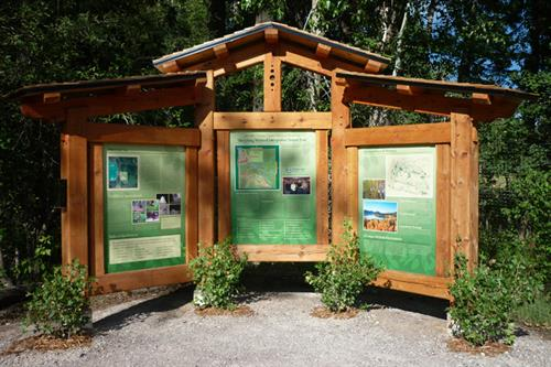 Trail Head and Interpretive Signs