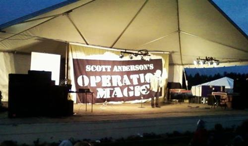 "National Performing Magician ""Scott Anderson"" from ""America's Got Talent"" @ Clatsop County Fair"
