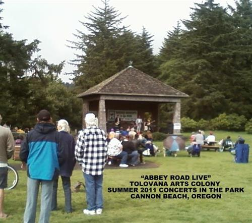 """Concerts in the Park"" Cannon Beach, Or."