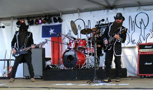 """Texas Tribute"" ZZ Top Tribute band @ Clatsop County Fair - www.texastribute.com"