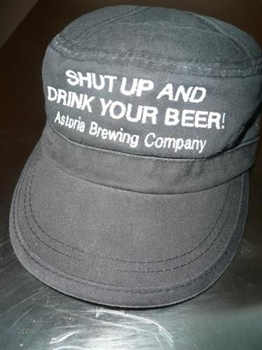 Shut Up and Drink your Beer Fidel hat