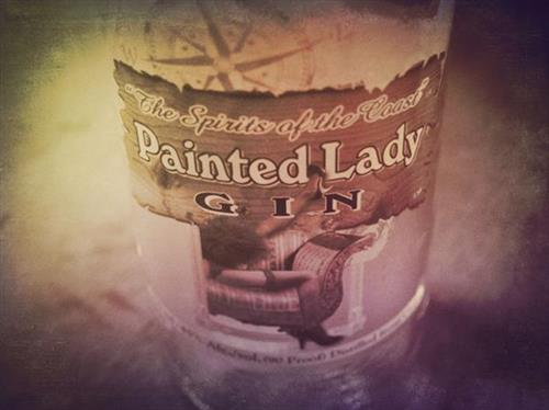 Painted lady Gin by North Coast Distilling