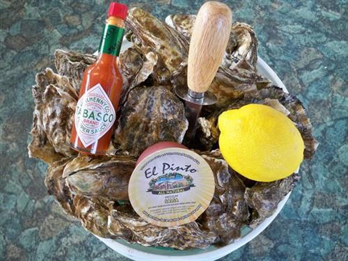 Oyster Beach Bucket Picnic Basket