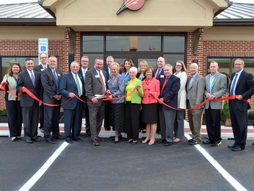 Hanover branch ribbon cutting - October 28, 2014