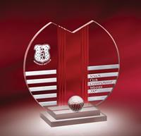 CY63 Ionic Golf Crystal Award